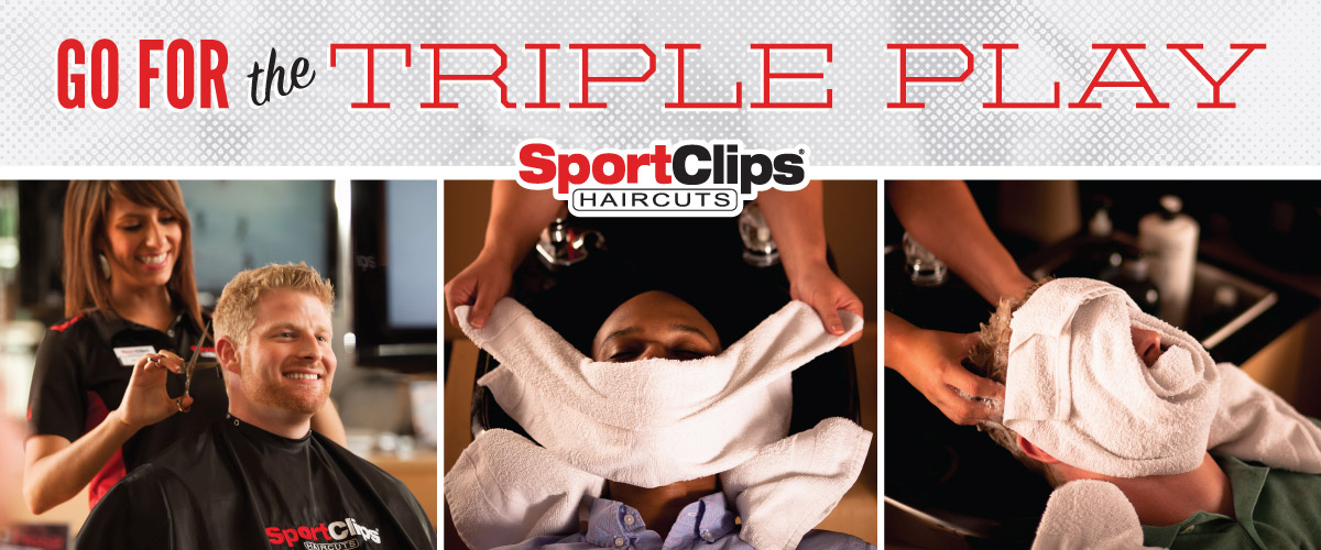 The Sport Clips Haircuts of Elkridge Triple Play